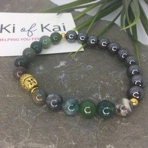 Handmade Reiki Energy Healing Mala bracelet